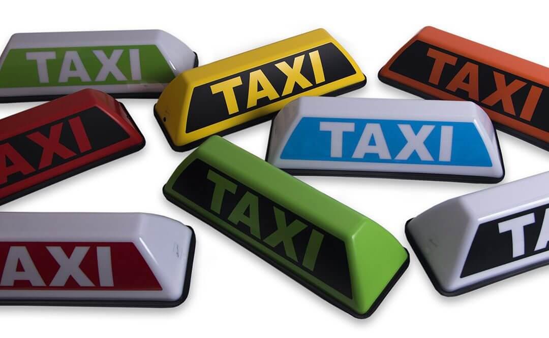 Barclay Mini blanco en Barclay Mini taxi