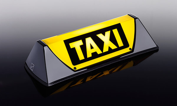 Barclay Toplight - Taxibord Barclay Nano