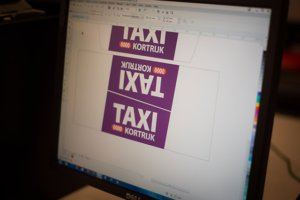 fabricage Barclay Toplights daklichten - taxiborden