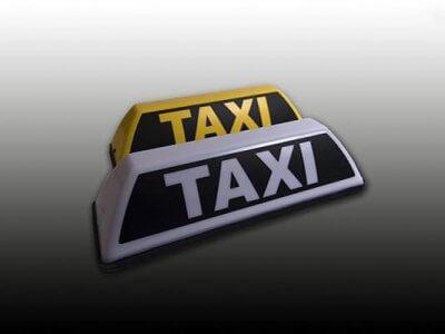 Barclay Toplights, Daklicht - Taxibord Barclay Taxi