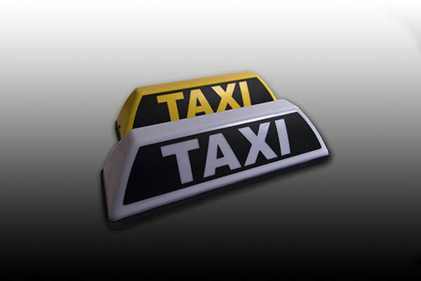 Barclay Toplights, - Taxibord Mini Taxi