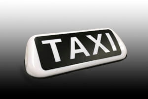 Taxibord barclay budget wit