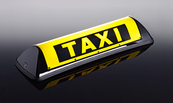 Barclay Toplights - Taxibord Barblay In-Between, Barclay dachzeichen